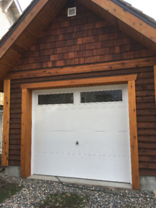 "Garage Door for Sale 1 year old 96"" x 84"" (8ft x 7ft) roll up"