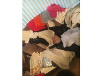 Huge bundle of girls ladies clothes mainly top shop some zara river island size 10 mainly