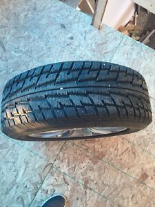 Winter rims and studded tires