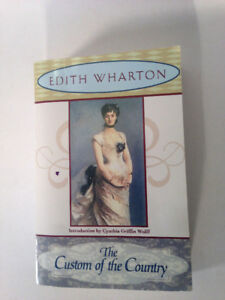 The Custom of the Country - Edith Wharton. Intro by Wolff