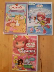 Lot de dvd vidéos fraisinette