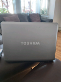 Toshiba laptop with windows 10