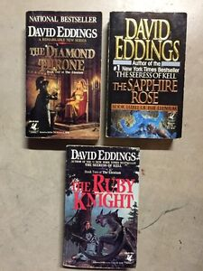 DAVID EDDINGS-The Elenium series