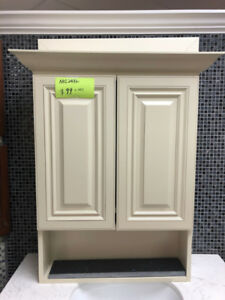 all demo vanity Medicine cabinets CLEARANCE on floor!!