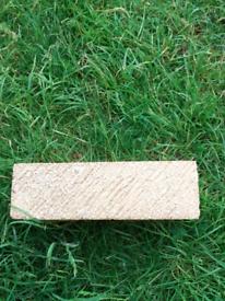 Milton buff bricks