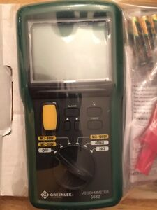 Greenlee Megohmmeter 5882 new in box Peterborough Peterborough Area image 1