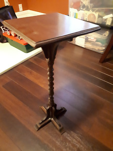 Antique square table
