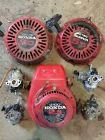Honda small engine parts for 9, 6, and 3.5hp