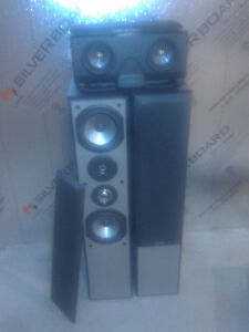 JVC receiver and speakers