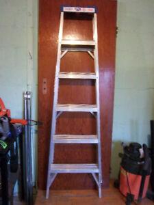 Two Aluminum Ladders