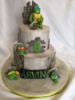Cake and custom cakes.Book for your party and summer wedding.