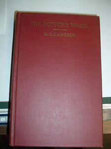 FS: Vintage Book-The Potter's Wheel by W.A. Cameron - NEW PRICE
