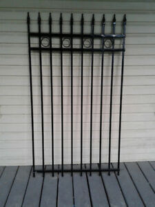Wrought (AKA Rod) Iron Gate