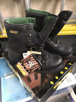 Wolverine Gortex Boots - Brand New with Tags Size 9.5 BLACK