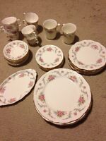 Royal Albert tranquility place settings