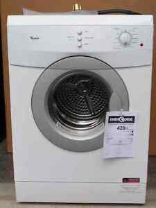 NEW Whirlpool Apartment Size Dryer 240 Volt- Stainless Drum