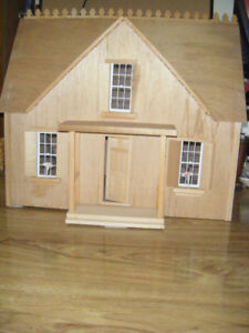 Hand Crafted Wood Doll House for sale