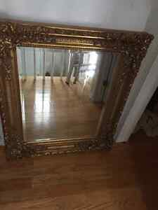 Extremely heavy solid wood ornate mirror Gatineau Ottawa / Gatineau Area image 2