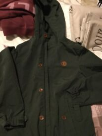 Boys Fred Perry coat.