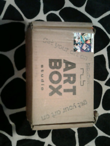 """Sell or Trade """"Midnight Cats"""" Art Box Project Box for all ages"""