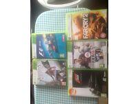 Xbox 360 games as seen