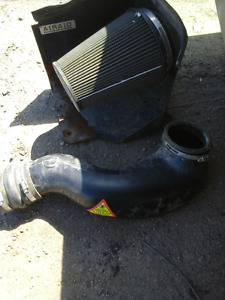 AIRAID COLD AIR INTAKE used off 2001 GMC 2500 HD  6.0