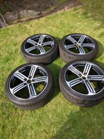 VW Cadiz 18 alloy wheels