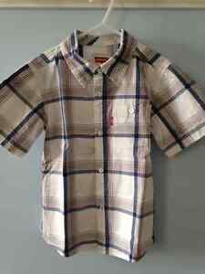 Boy's Levi's Outfit - Shirt and Jeans, Size 6X