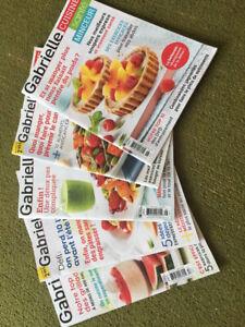 Magasines  Gabrielle Cuisine Santé Minceur
