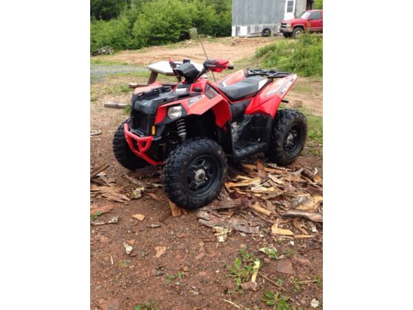 Used 2014 Polaris scrambler 850