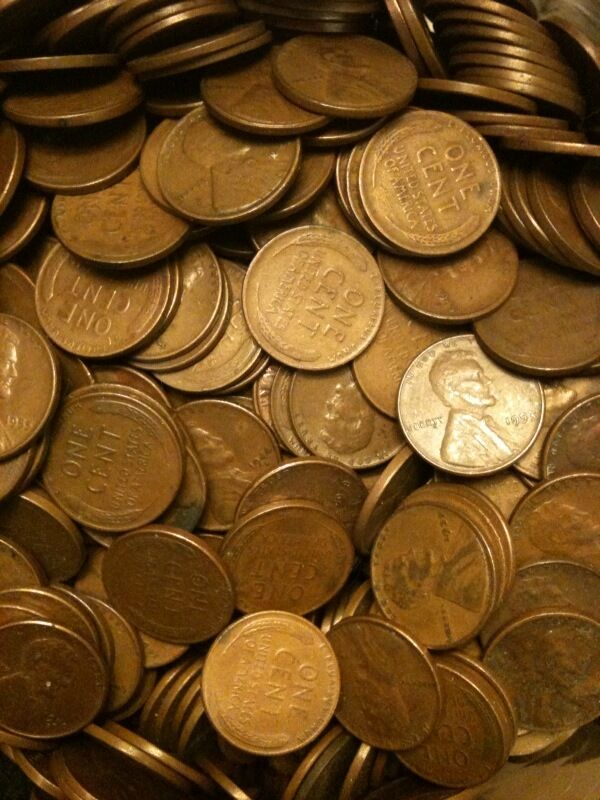 25x Lincoln Wheat Penny Cent P D S Mint 1909-1958 G-BU MS US Coin 1c + BONUSES