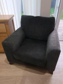 3 seater sofa and chair (Julian foye)