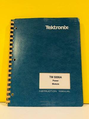 Tektronix 070-7614-01 Tm 5006a Power Module Instruction Manual