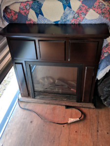 Stand up fireplace