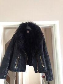 Leather jacket size 12