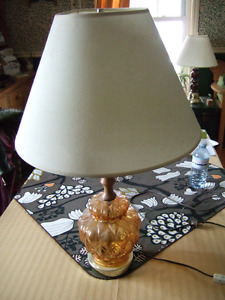 Table lamp- $5