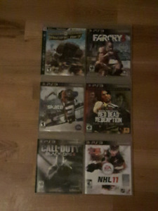 Ps3 with 8 games + tv