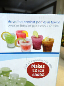 Two New Sets of Ice Shots Shooter Glass makers - Made with water Kitchener / Waterloo Kitchener Area image 3