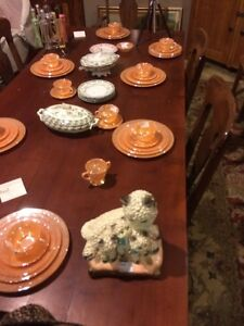 Gorgeous antique cherry harvest table SALE London Ontario image 3