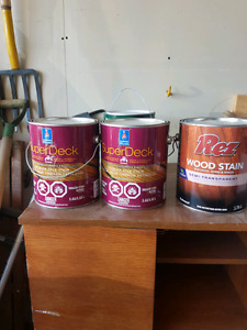 Deck Stain Red