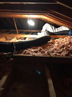 INSULATION REMOVAL .90 CENTS SQ FT