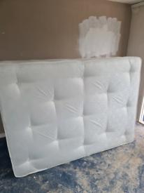 Double, memory foam mattress