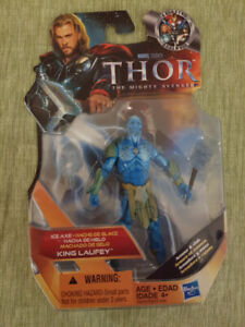"""Thor The Mighty Avengers Ice Axe King Laufey Action Figure 3.75"""""""