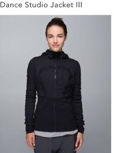 Lululemon Dance Studio jacket size 4