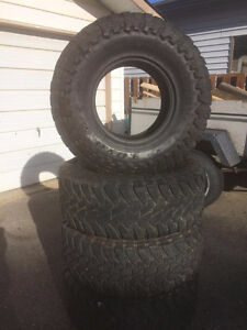 """Toyo M/T Open Country- 35"""" Tires"""