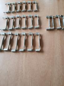 22 matt stainless Steel kitchen door handle REDUCED