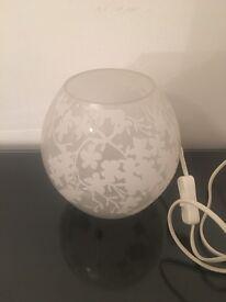 IKEA flower pattern lamp large