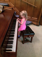 Violin and Piano lessons in your home!