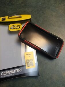 Otter Box for Ipohne 5 - NEW CONDITION - black with orange