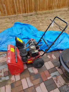Need Nothing- Well maintained Gas Snow Blower-Yard Machine